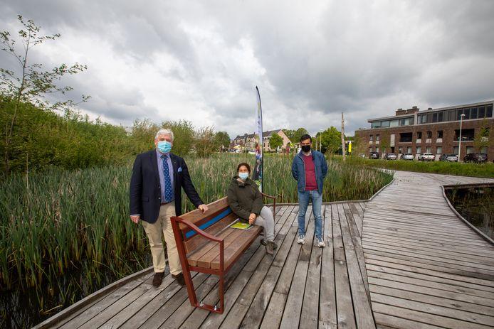 Het 'Vettig Boske' in Zonhoven bestaat niet meer, wél het splinternieuwe 't Vlonderpiëke dat toegankelijk is voor alle Zonhovenaren en passanten.