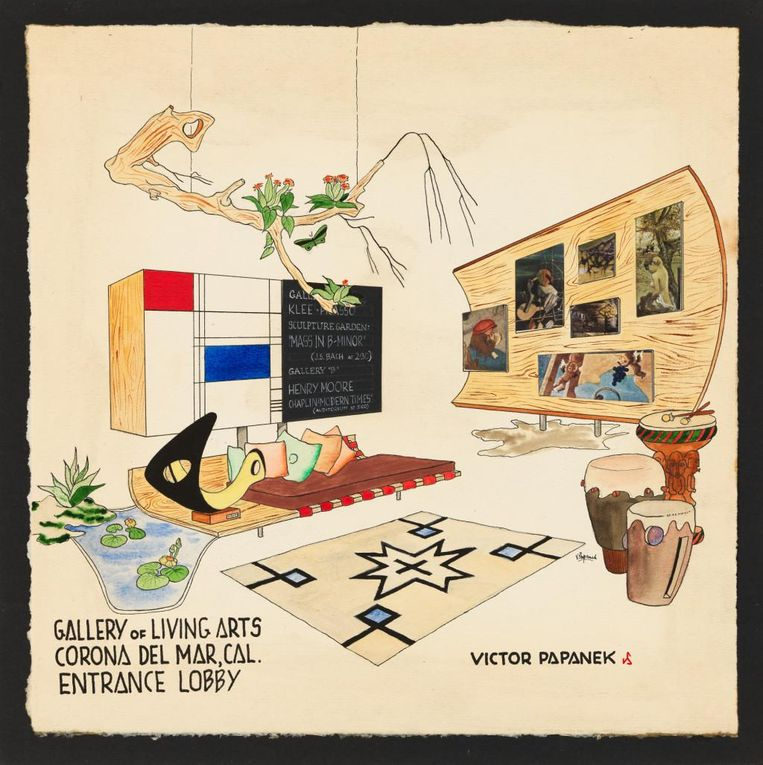 Victor Papanek - The Politics of Design. Beeld © University of Applied Arts Vienna, Victor J. Papanek Foundation
