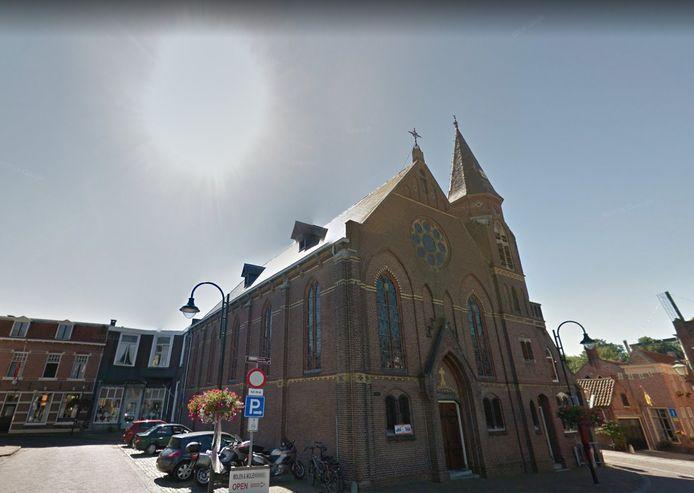 De Rooms-Katholieke kerk in Tholen.