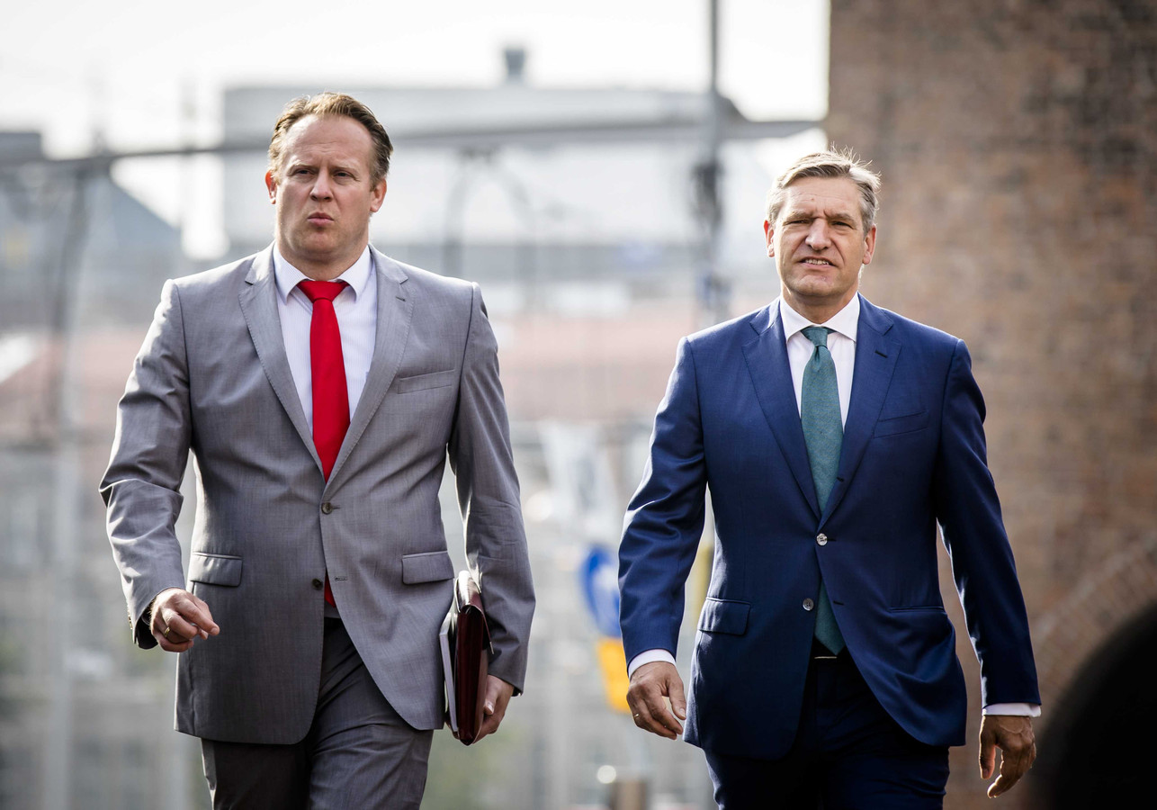 Pieter Heerma en Sybrand Buma
