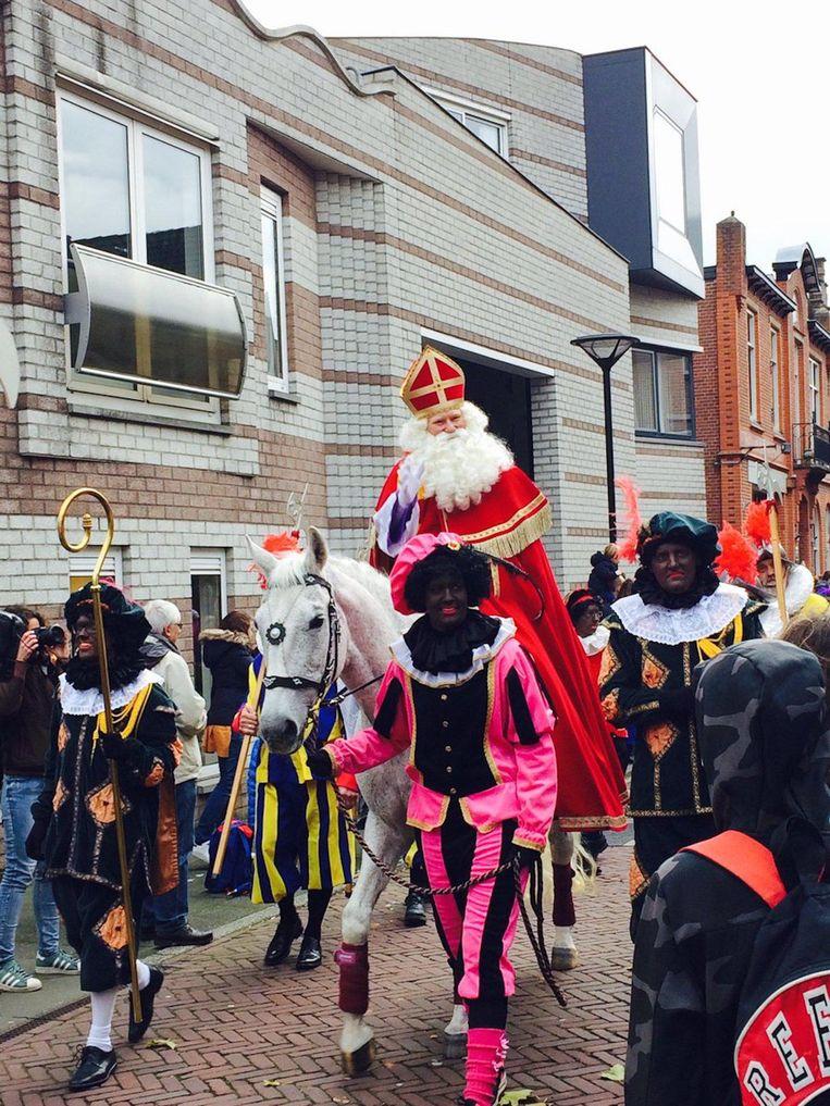 Sinterklaas is in Amstelveen aangekomen Beeld Geertje Visser