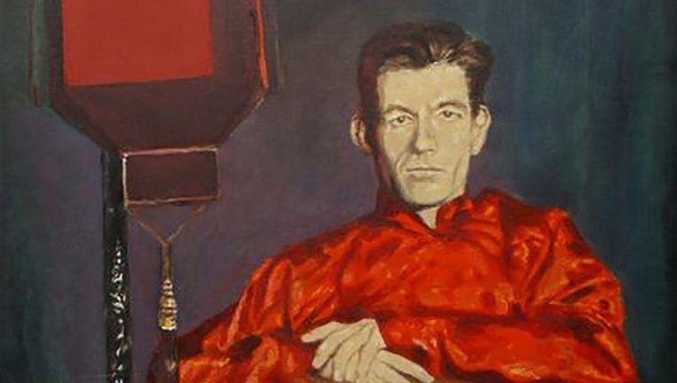 J. Slauerhoff, geschilderd door Rob Schotsman. Beeld Rob Schotsman