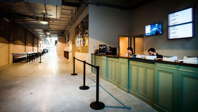 De in 2014 geopende Filmhallen is met stip het belangrijkste filmtheater van Amsterdam geworden. Beeld anp