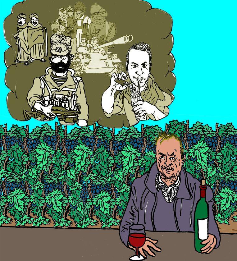 De hel van Afghanistan Beeld Gabriël Kousbroek
