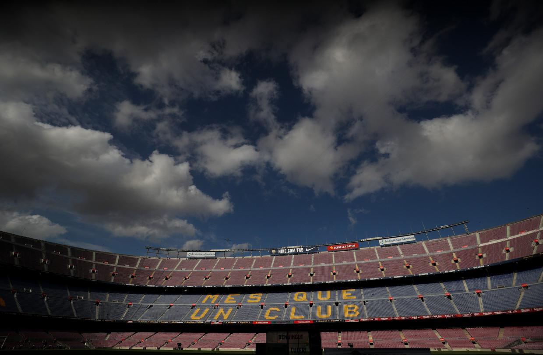 Camp Nou, Barcelona. Beeld REUTERS
