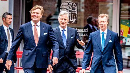 Koning Filip viert zestig jaar Benelux