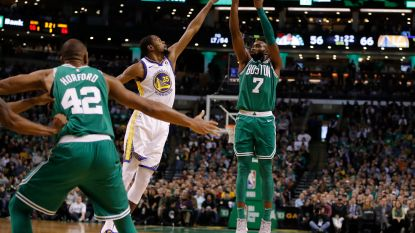 Celtics winnen ook NBA-topper tegen Warriors