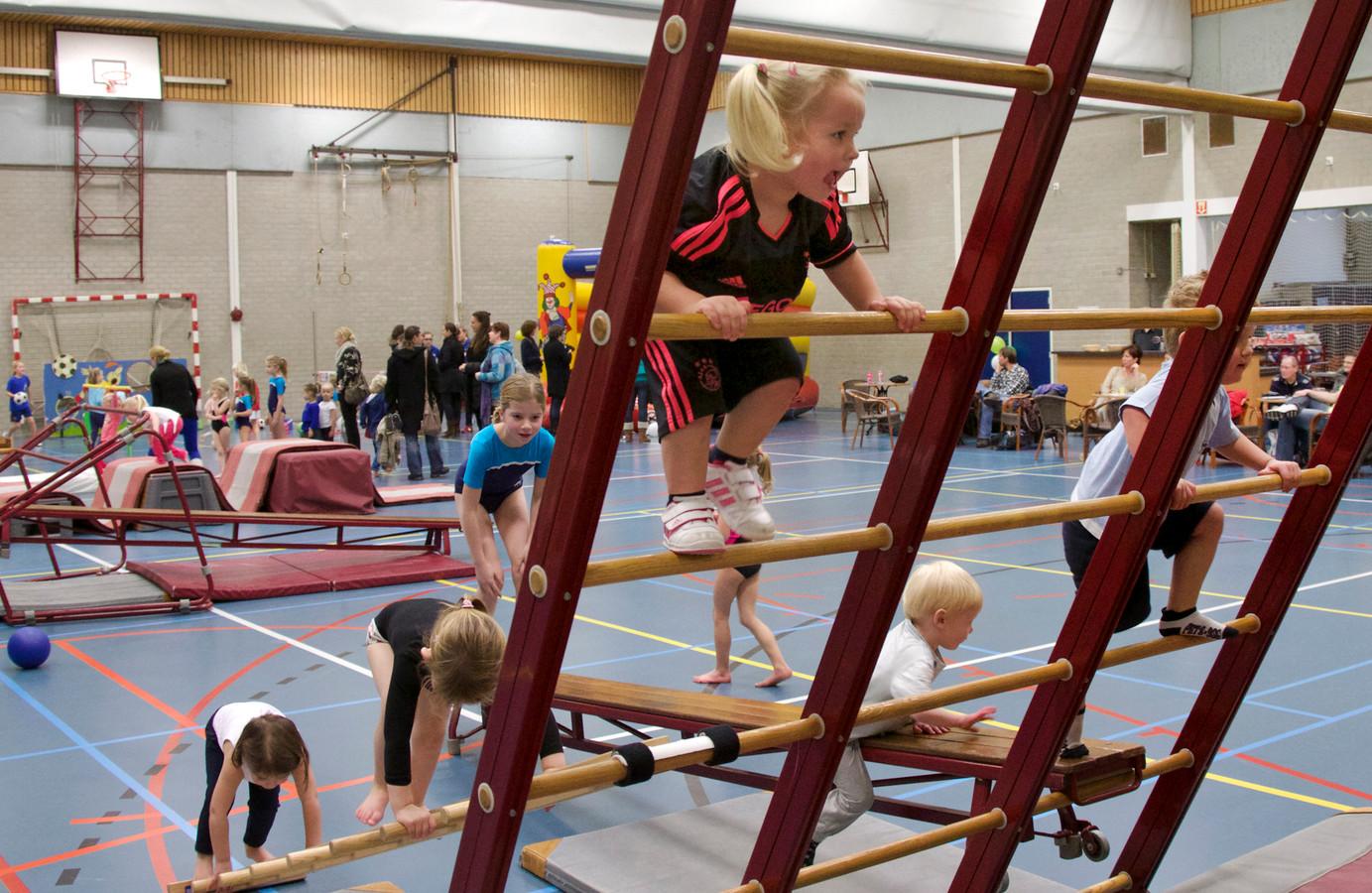 De meeste kinderen kunnen goed klimmen en klauteren. Een kwart scoort echter een onvoldoende.