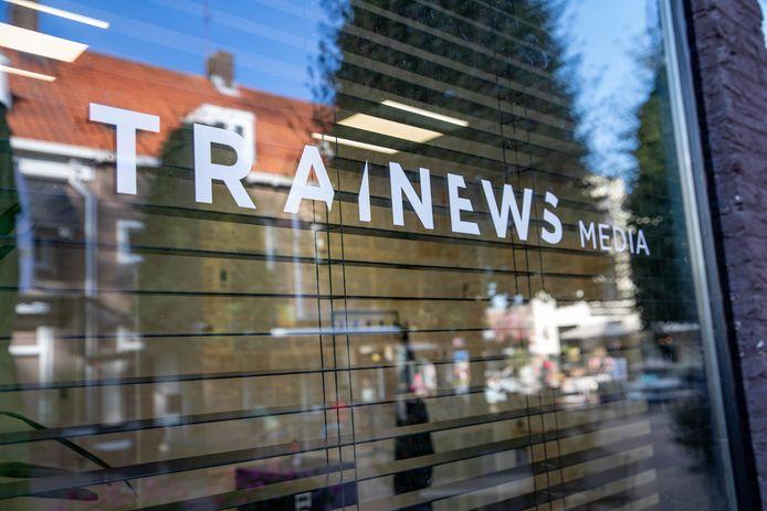 Het kantoor van Trainews Media in Yerseke.