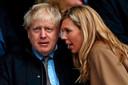 Boris Johnson en zijn partner Carrie Symonds.