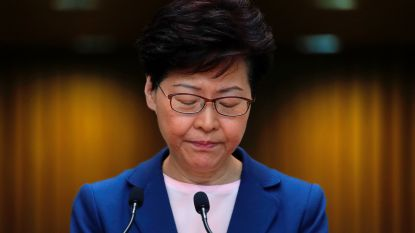 "Uitleveringswet Hongkong is ""dood"" na aanhoudende burgerprotesten, geeft regeringsleider toe"