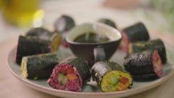 Maak vandaag lekkere vegetarische sushirolls met bloemkoolrijst