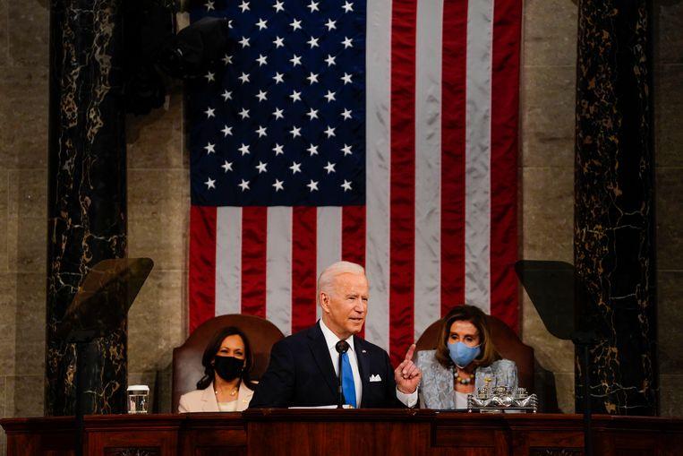 President Joe Biden heeft zich ontpopt als een hervormingsgezinde aanpakker. Beeld EPA