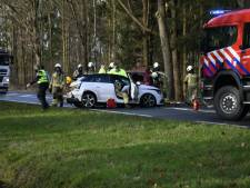 Twee gewonden bij botsing in Darp