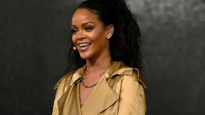 Rihanna geeft exclusieve eerste luisterbeurt van nieuwe album ... aan acht maanden oude baby