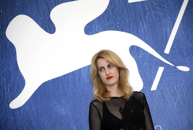 Regisseur Fien Troch op het Filmfestival van Venetië. Beeld EPA
