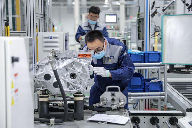 Volkswagen heeft zijn toekomst al langer verbonden aan elektrisch rijden. Beeld VCG via Getty Images