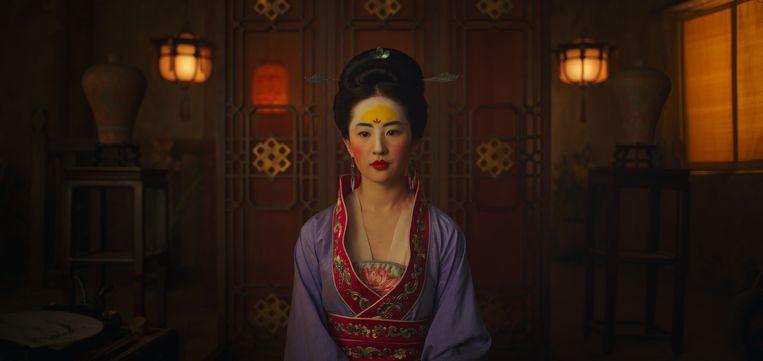 Een still van de nieuwe live-action Disneyfilm 'Mulan'. Beeld Film Frame./© 2019 Disney Enterprises, Inc.