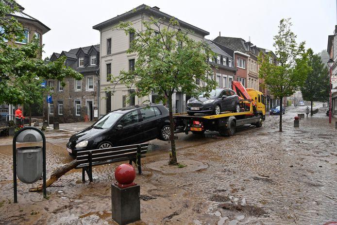 Ook in Eupen is men alvast aan de ruimwerken begonnen.