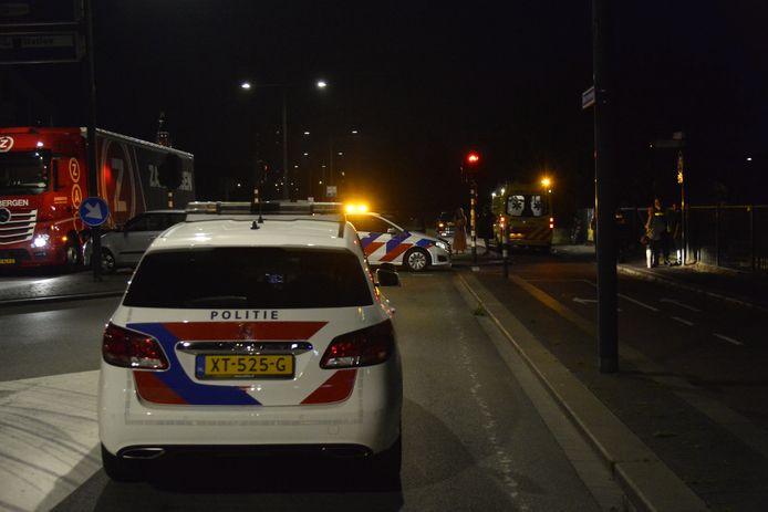 Fietsster gewond bij aanrijding in Breda.