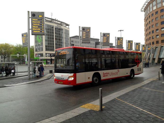 Busstation Amersfoort.