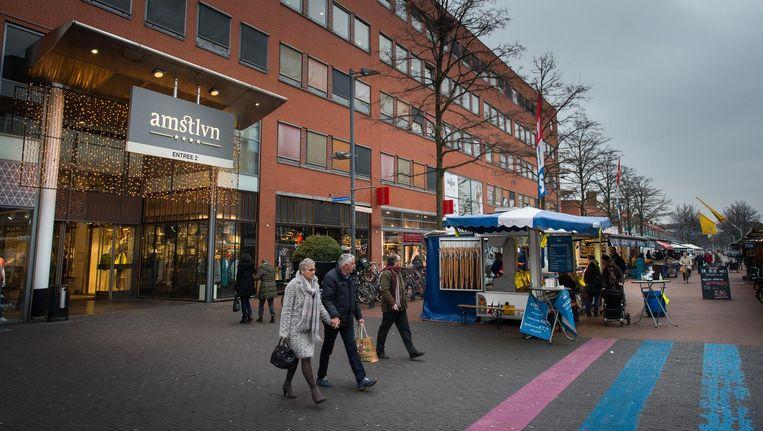 In Stadshart Amstelveen wordt ondermeer de Rembrandthof aan de straatkant uitgebreid met nieuwe winkels Beeld Mats van Soolingen