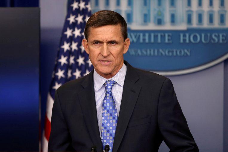 Michael Flynn in 2017. Beeld REUTERS