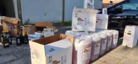 Grote partij illegale bestrijdingsmiddelen in beslag genomen in Flevoland