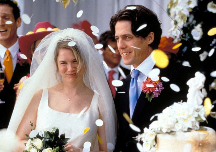 Renee Zellweger en Hugh Grant in 'Bridget Jones'