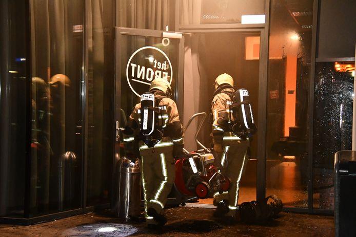 Brandstichting in een put zorgde voor  roetschade in Het Punt in Vroomshoop.