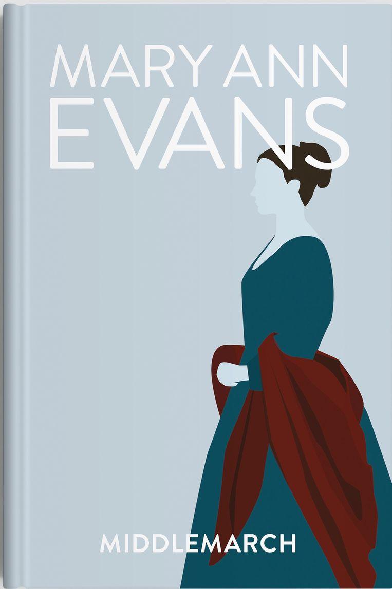 Mary Ann Evans (alias George Eliot), 1871. Beeld