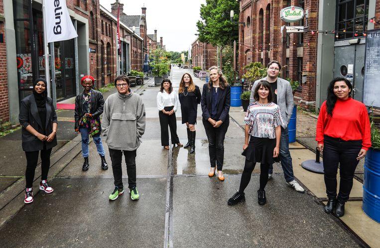 De genomineerden voor de Amsterdamprijs voor de Kunst 2021.  Beeld Eva Plevier