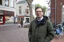 Remco Feith, binnenstadsmanager van Zutphen: ,,Sommige bedrijven moeten eerder dicht, omdat er te weinig capaciteit is.''
