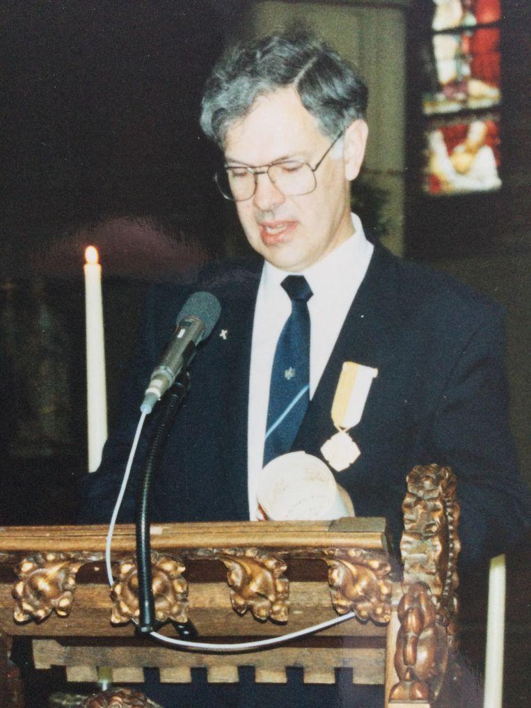 Hans van den Berg Beeld Privé-archief