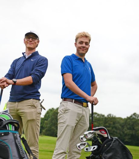 Enschedese golfclub zoekt meer jonge leden als Chiem en Lieuwe: '250 euro voor een seizoen is best goedkoop'