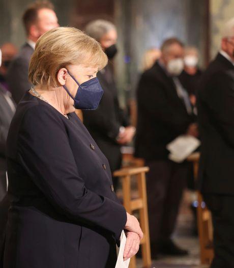 Duitsland herdenkt slachtoffers overstromingen