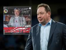 Voormalig Vitesse-coach Leonid Sloetski steelt de show als rapper in videoclip