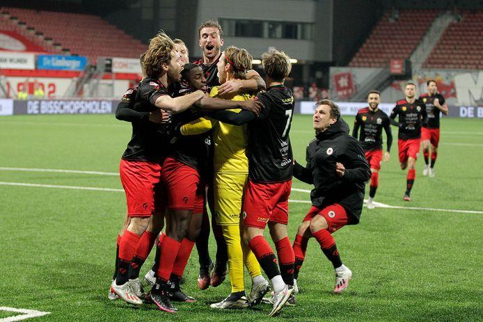 Excelsior won in de vorige ronde van MVV na penalty's (2-2, 4-5 na strafschoppen).