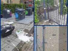 Kinderdagverblijf besmeurd met witte drek: 'Zelfs de speelplaats zit onder'
