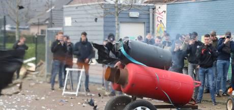 Carbidschieten in Twente blijft beperkt tot plofjes in het buitengebied