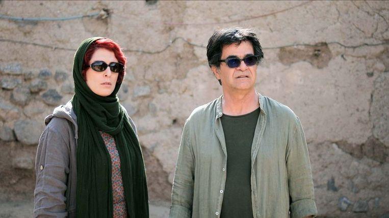 Behnaz Jafari en Jafar Panahi in '3 Faces' van Jafar Panahi. Beeld