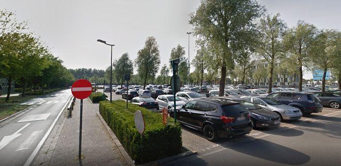 De parking van het AZ Sint-Jan in Brugge.