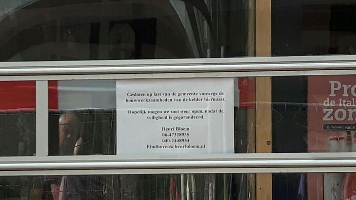 De winkel is momenteel gesloten