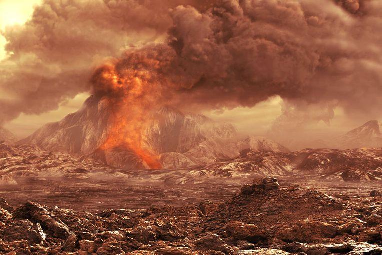 Venus (impressie) (ESA) Beeld