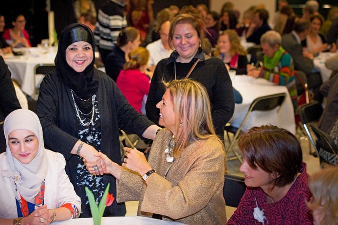 In 2015 bezocht Máxima het vierde Taal Doet Meer-college.