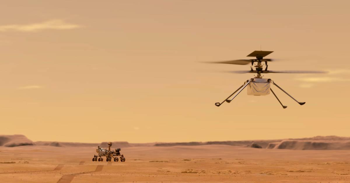 La Nasa veut faire voler un hélicoptère sur Mars: pour quoi faire? - 7sur7