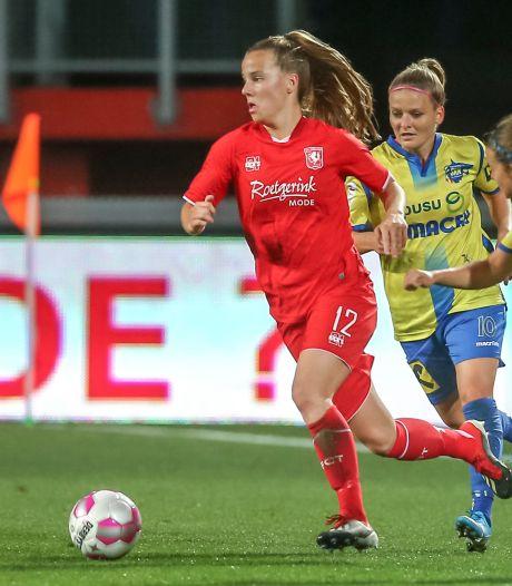 Bij de mannen zou het niet kunnen, maar FC Twente Vrouwen gunt de vertrekkende trainer de international