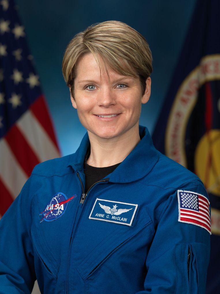 Astronaut Anne C. McClain Beeld AFP