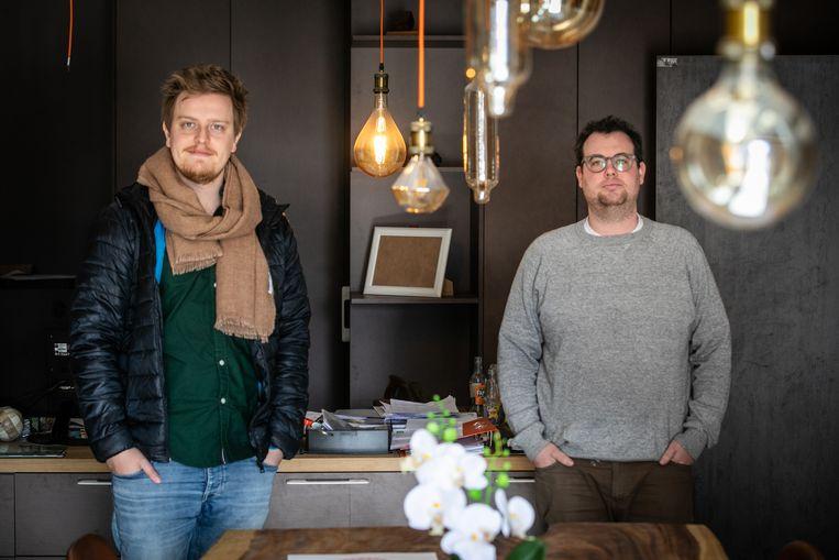 Jonge ondernemers Ruben Bollengier, Pim Leurs