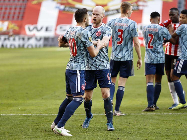 Tadic buiten het stadion bekogeld door woedende PSV-fans, Ajax doet aangifte